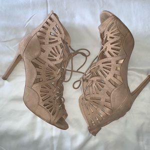 NY&C Blush Pink Sandal Heels